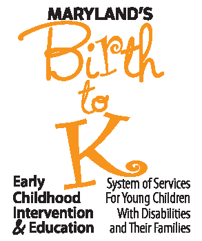 Maryland Birth to K Logo